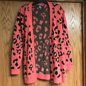 Cheetah/Leopard Vanity Cardigan